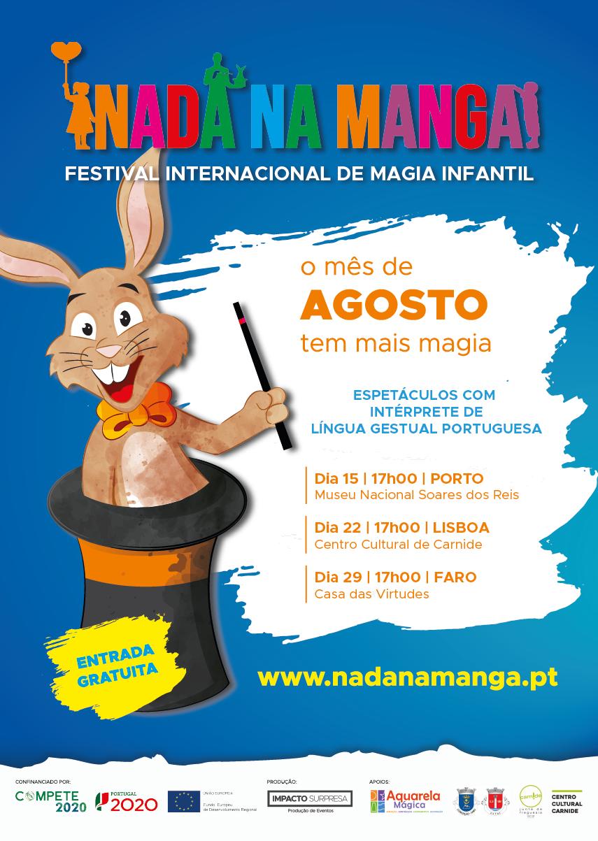 """Festival """"Nada na Manga"""""""