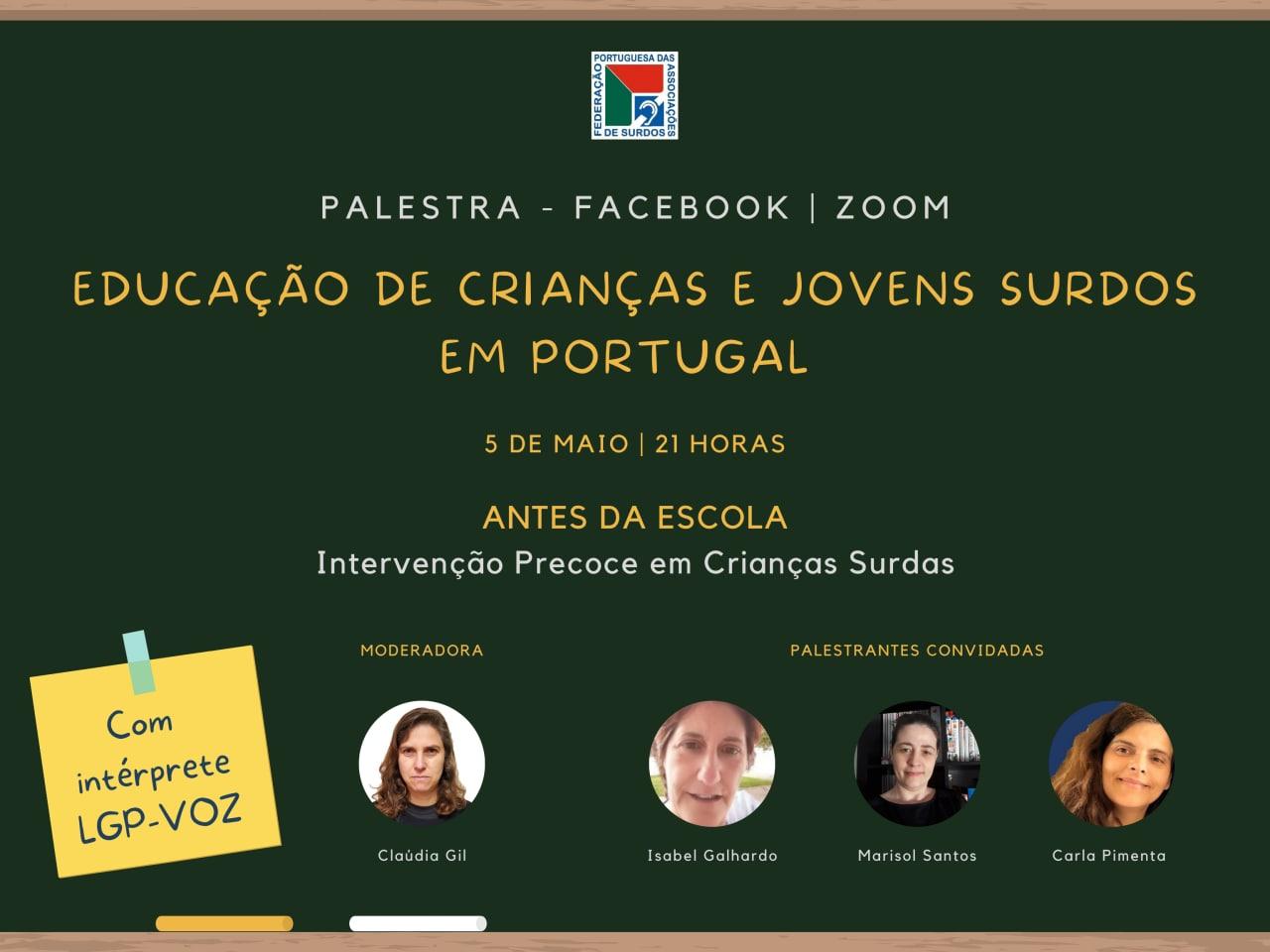 Entrevista sobre a Educação de Crianças e Jovens Surdos em Portugal