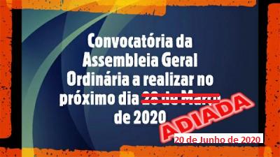 Convocatória de Assembleia Geral Ordinária da FPAS (20-06-2020)