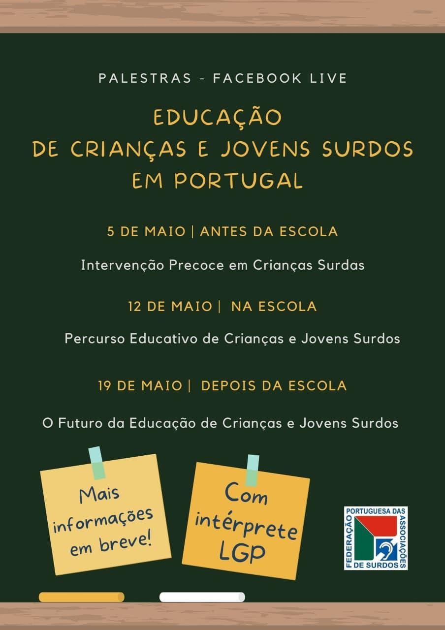 Educação de Crianças e Jovens Surdos em Portugal