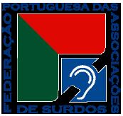 Logo Federação Portuguesa das Associações de Surdos